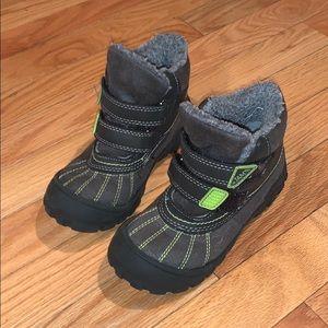 JAM Faux Fur High Top Snow Boots